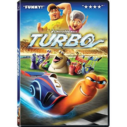 Turbo: Animate DVD (for NZ Buyers)
