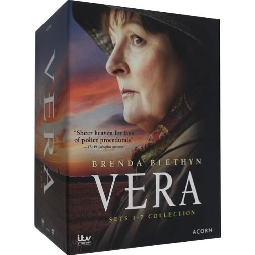 Vera Complete Series Sets 1-7 Collection DVD (for NZ Buyers)