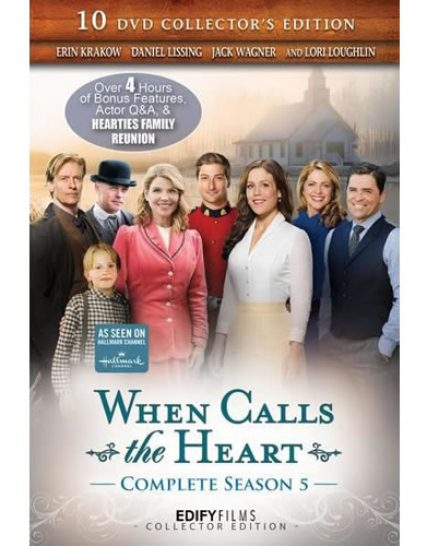 When Calls the Heart - The Complete Season 5 DVD (for NZ Buyers)