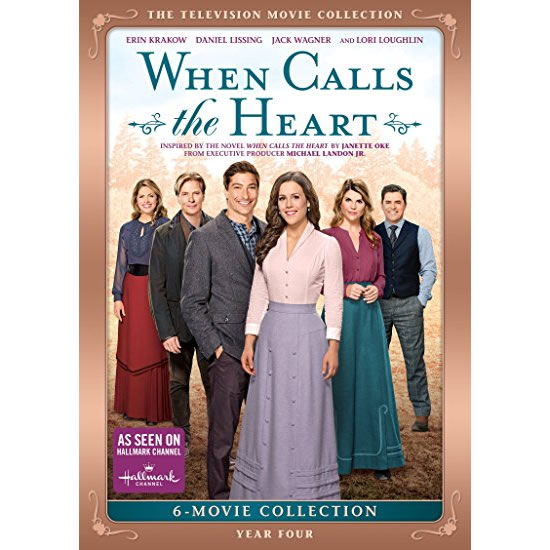 When Calls The Heart: Year Four 6-Movie Collection DVD (for NZ Buyers)
