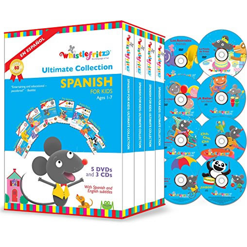 Whistlefritz - The Ultimate Collection Spanish: Animate DVD (for NZ Buyers)