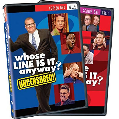 Whose Line Is It Anyway - The Complete Season 1 Vol. 1 and 2 DVD (for NZ Buyers)