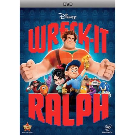 Wreck It Ralph: Animate DVD (for NZ Buyers)