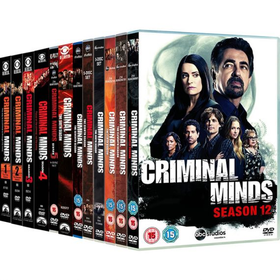 Criminal Minds: The Complete Series 1-12 DVD