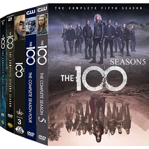 The 100 Complete Series 1-5 DVD