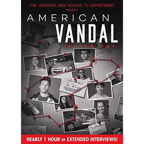 American Vandal - The Complete Season 1 DVD (for NZ Buyers)