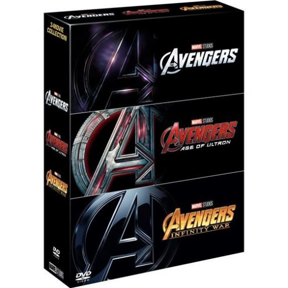 Marvel's The Avengers 3-Movie Collection DVD (for NZ Buyers)