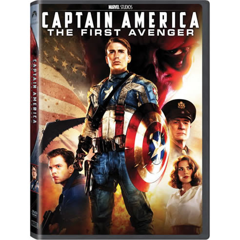 Captain America: The First Avenger DVD (for NZ Buyers)