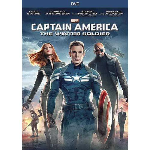 Captain America: The Winter Soldier DVD (for NZ Buyers)