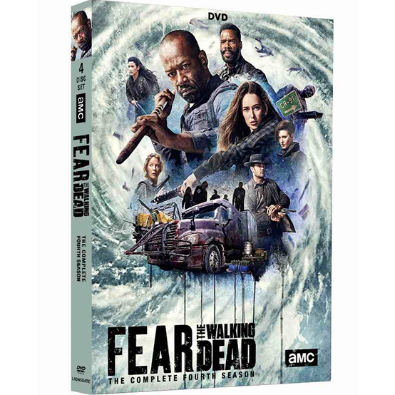 Fear the Walking Dead - The Complete Season 4 DVD (for NZ Buyers)