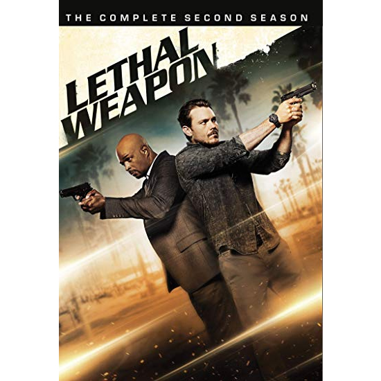 Lethal Weapon - The Complete Season 2 DVD (for NZ Buyers)
