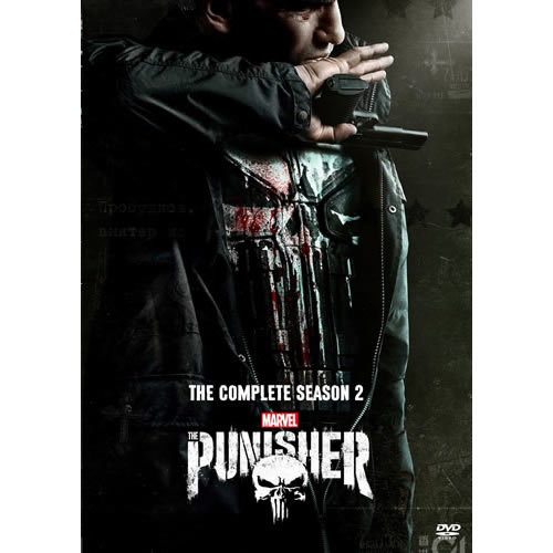 The Punisher - The Complete Season 2 DVD (for NZ Buyers)