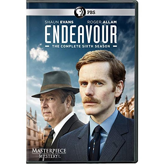 Endeavour - The Complete Season 6 DVD (for NZ Buyers)
