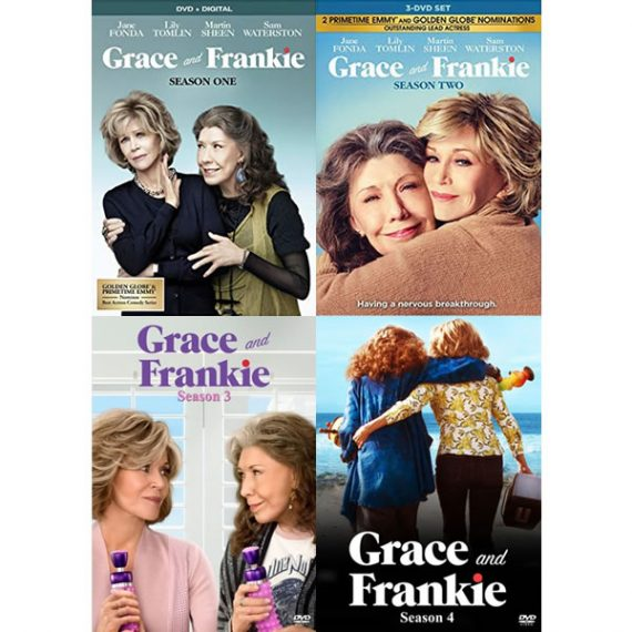 Grace And Frankie - The Complete Season 1-4 DVD (for NZ Buyers)
