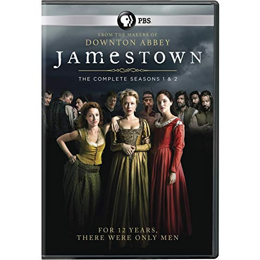 Jamestown - The Complete Season 1-2 DVD (for NZ Buyers)