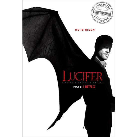 Lucifer - The Complete Season 4 DVD (for NZ Buyers)