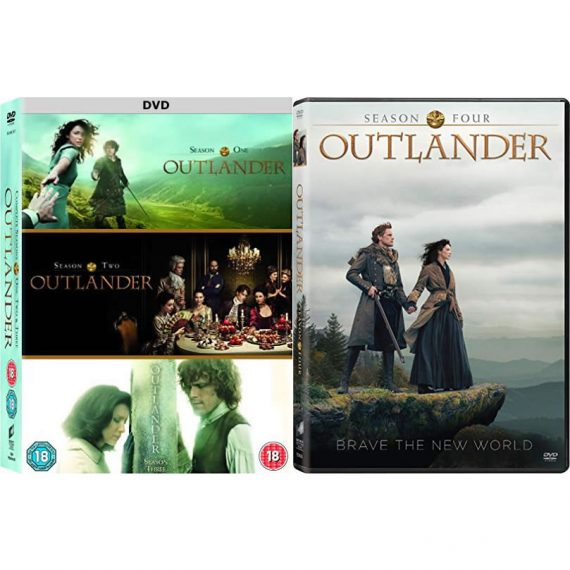 Outlander - The Complete Season 1-4 DVD (for NZ Buyers)