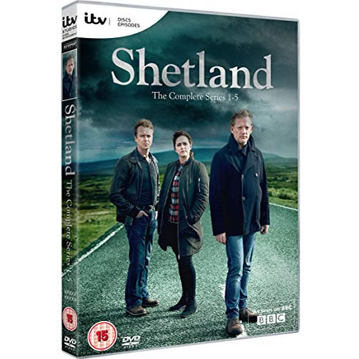 Shetland - The Complete Season 1-5 DVD (for NZ Buyers)