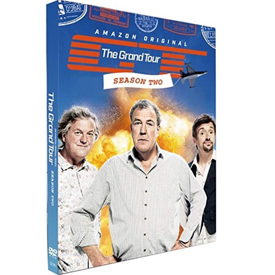 The Grand Tour - The Complete Season 2 DVD (for NZ Buyers)