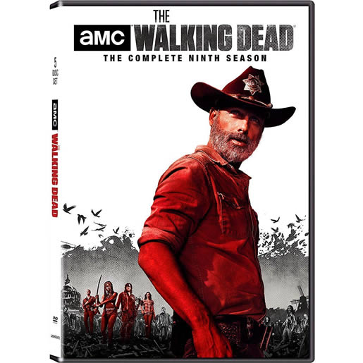 The Walking Dead - The Complete Season 9 DVD (for NZ Buyers)