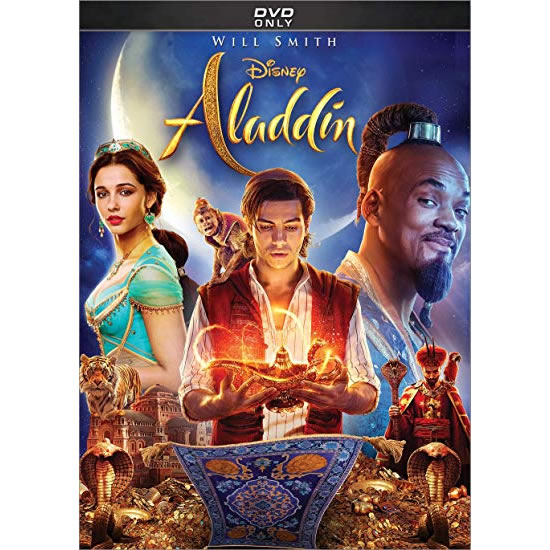 Aladdin 2019 DVD (for NZ Buyers)