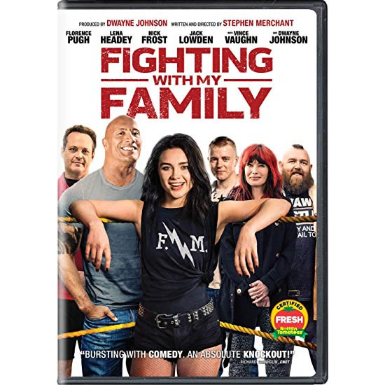 Fighting With My Family DVD (for NZ Buyers)