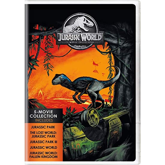 Jurassic World 5-Movie Collection DVD (for NZ Buyers)