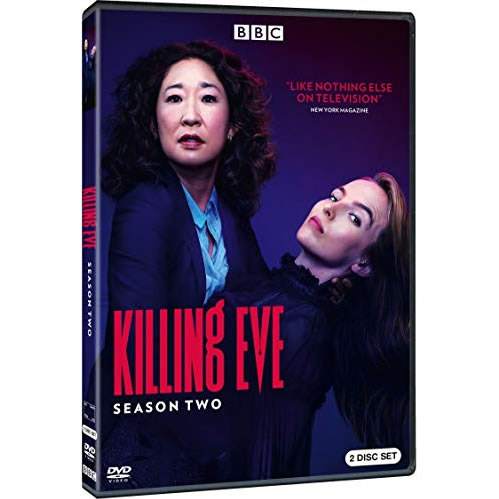 Killing Eve - The Complete Season 2 DVD (for NZ Buyers)