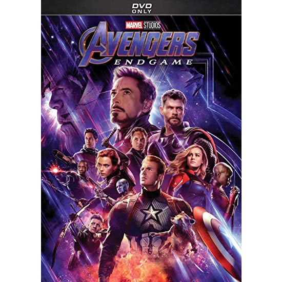 Marvel Studios' Avengers: Endgame DVD (for NZ Buyers)