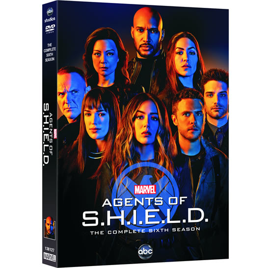 Marvel's Agents of SHIELD - The Complete Season 6 DVD (for NZ Buyers)