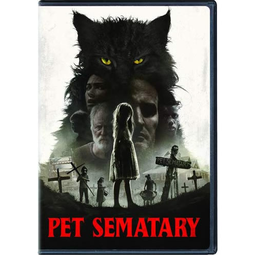 Pet Sematary 2019 DVD (for NZ Buyers)