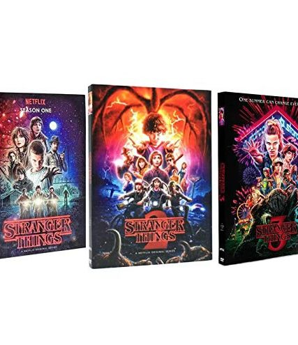 Stranger Things - The Complete Season 1-3 DVD (for NZ Buyers)