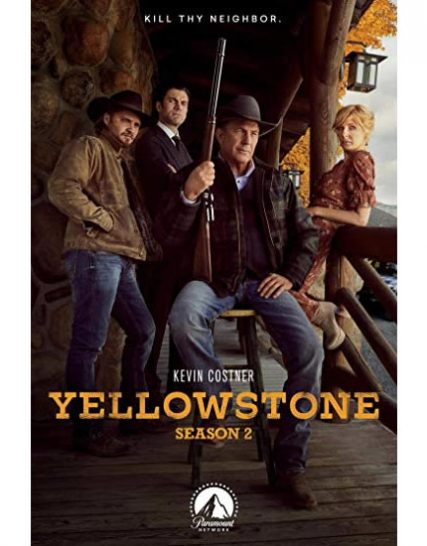 Yellowstone - The Complete Season 2 DVD (for NZ Buyers)