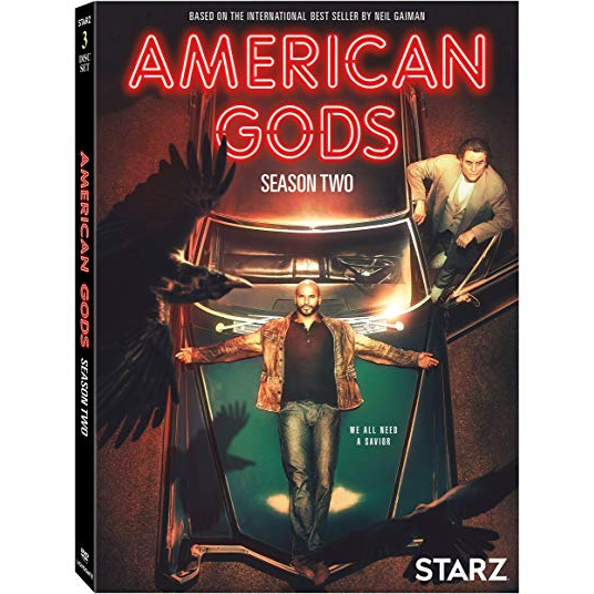 American Gods - The Complete Season 2 DVD (for NZ Buyers)