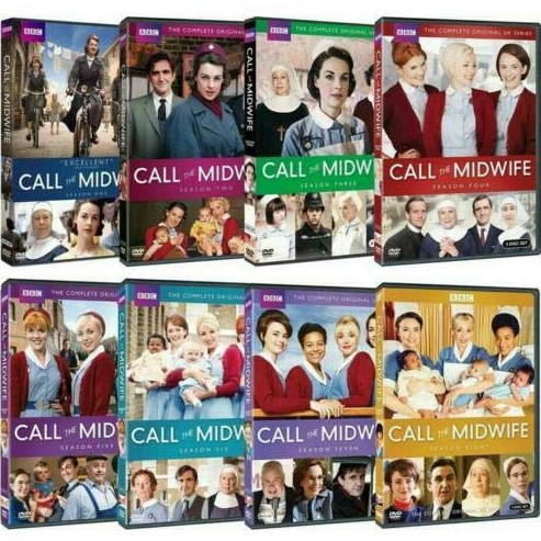 Call the Midwife - The Complete Season 1-8 DVD (for NZ Buyers)