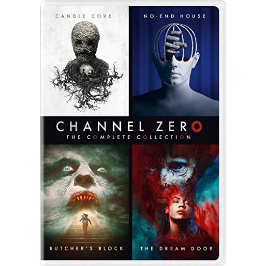 Channel Zero - The Complete Season 1-4 DVD (for NZ Buyers)