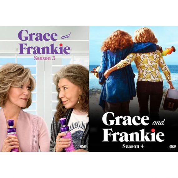 Grace And Frankie - The Complete Season 3-4 DVD (for NZ Buyers)