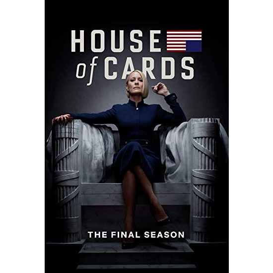 House of Cards - The Complete Season 6 DVD (for NZ Buyers)