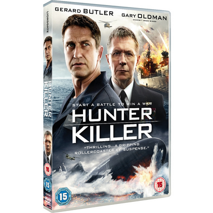 Hunter Killer DVD (for NZ Buyers)