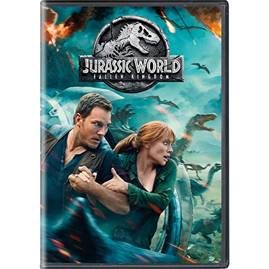 Jurassic World: Fallen Kingdom DVD (for NZ Buyers)