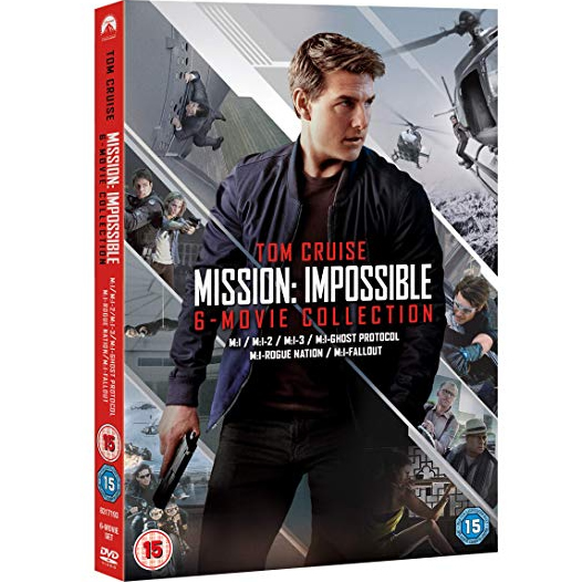 Mission: Impossible - 6 Movie Collection DVD (for NZ Buyers)