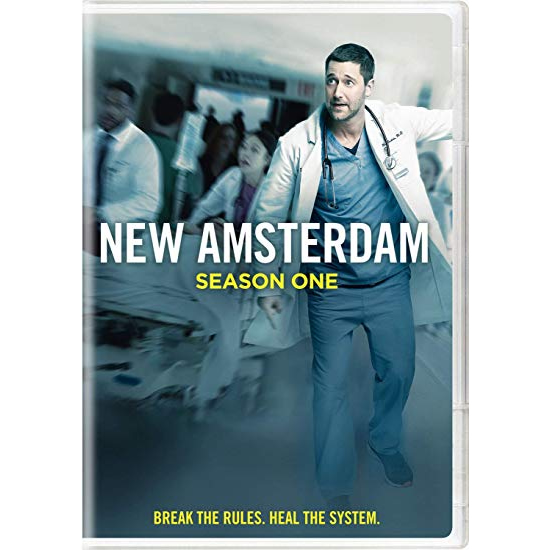 New Amsterdam - The Complete Season 1 DVD (for NZ Buyers)