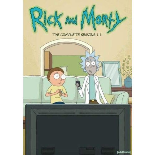 Rick and Morty - The Complete Season 1-3 DVD (for NZ Buyers)