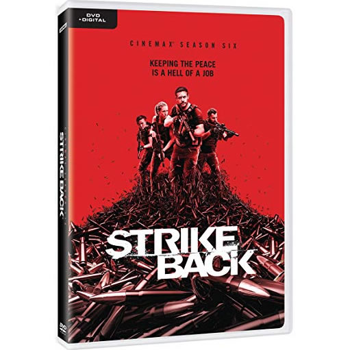 Strike Back - The Complete Season 6 DVD (for NZ Buyers)