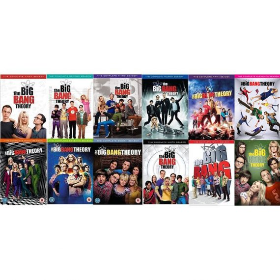 The Big Bang Theory - The Complete Season 1-12 DVD (for NZ Buyers)