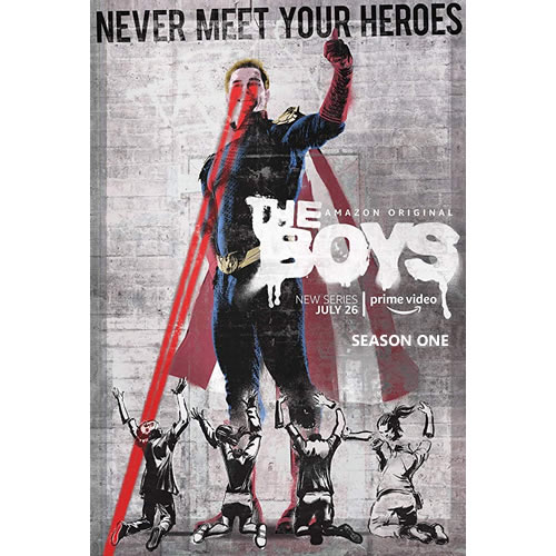 The Boys - The Complete Season 1 DVD (for NZ Buyers)