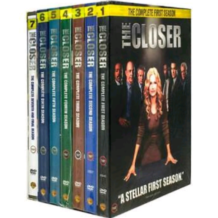 The Closer - The Complete Season 1-7 DVD (for NZ Buyers)