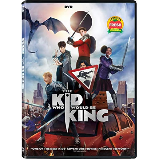 The Kid Who Would Be King DVD (for NZ Buyers)