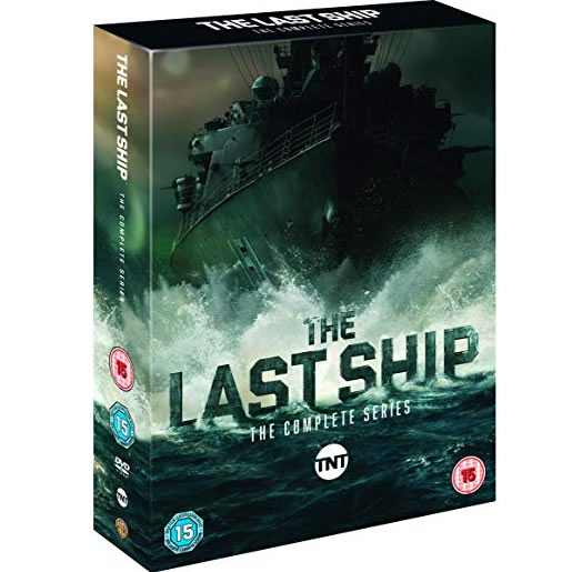 The Last Ship - The Complete Season 1-5 DVD (for NZ Buyers)
