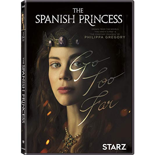 The Spanish Princess DVD (for NZ Buyers)